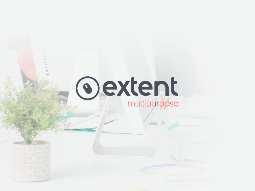 Extent best portfolio WordPress theme