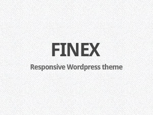 Finex company WordPress theme