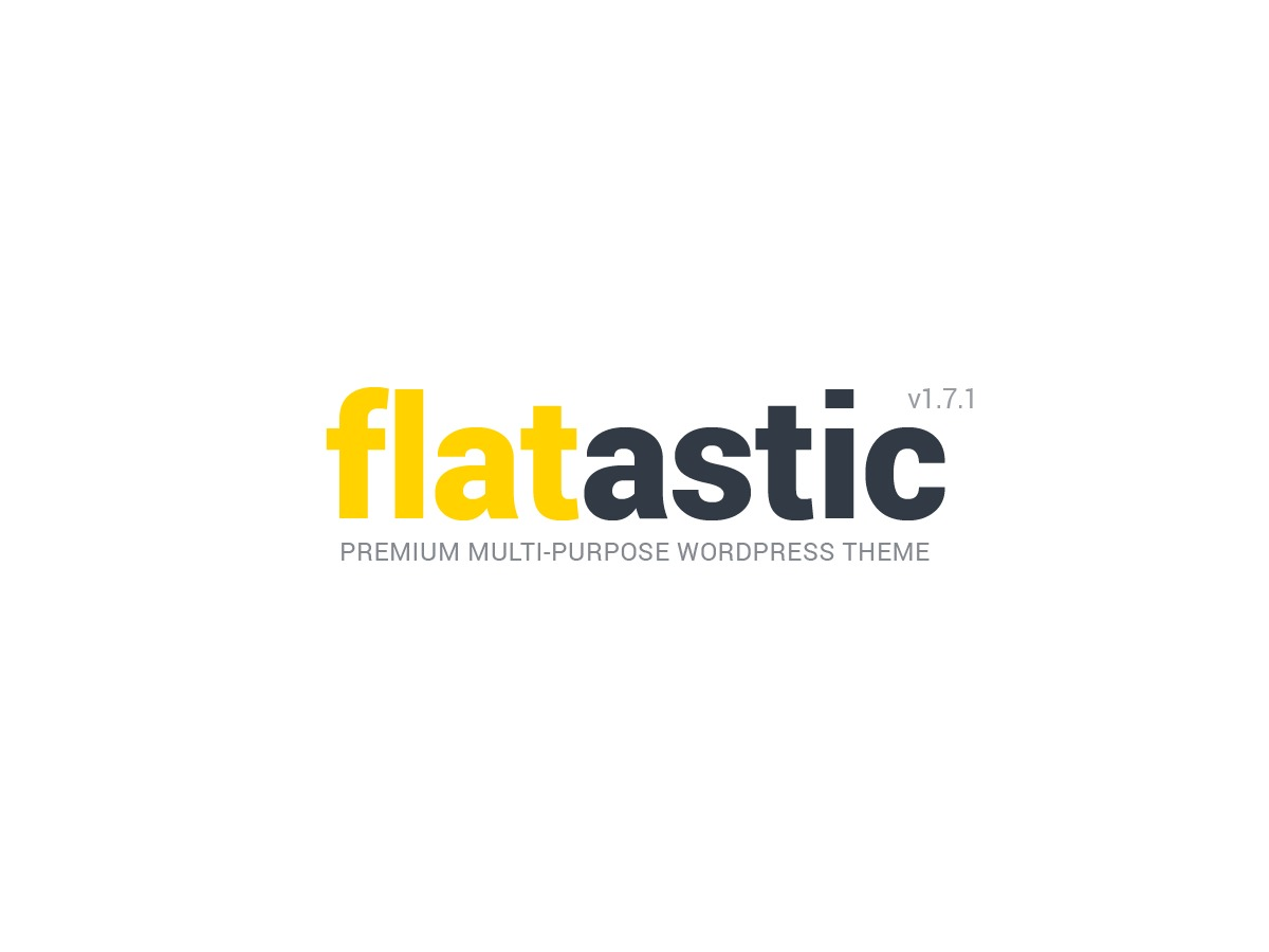 Flatastic template WordPress
