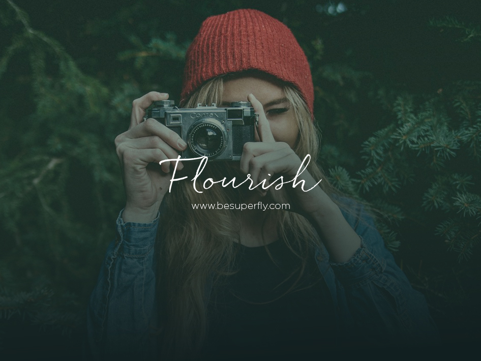 Flourish template WordPress