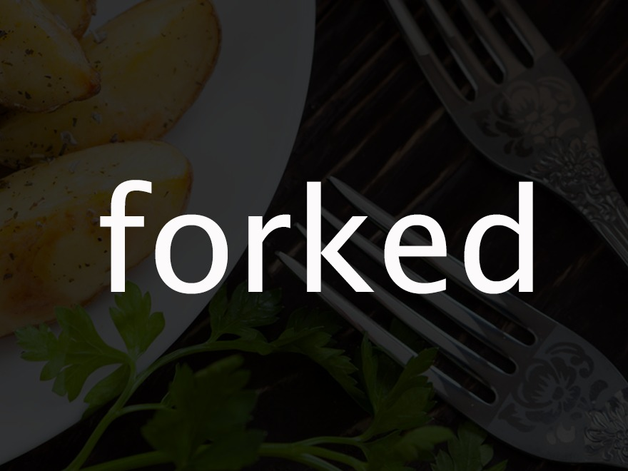 Forked WP theme
