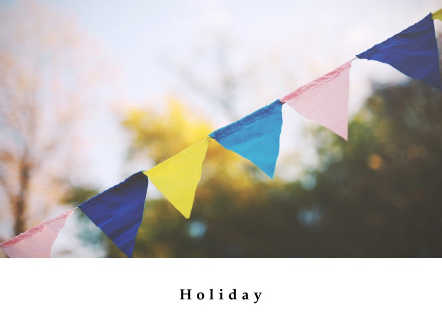 Holiday WordPress theme