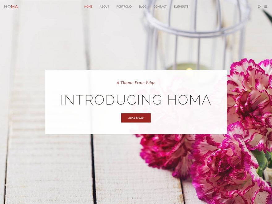 Homa theme WordPress