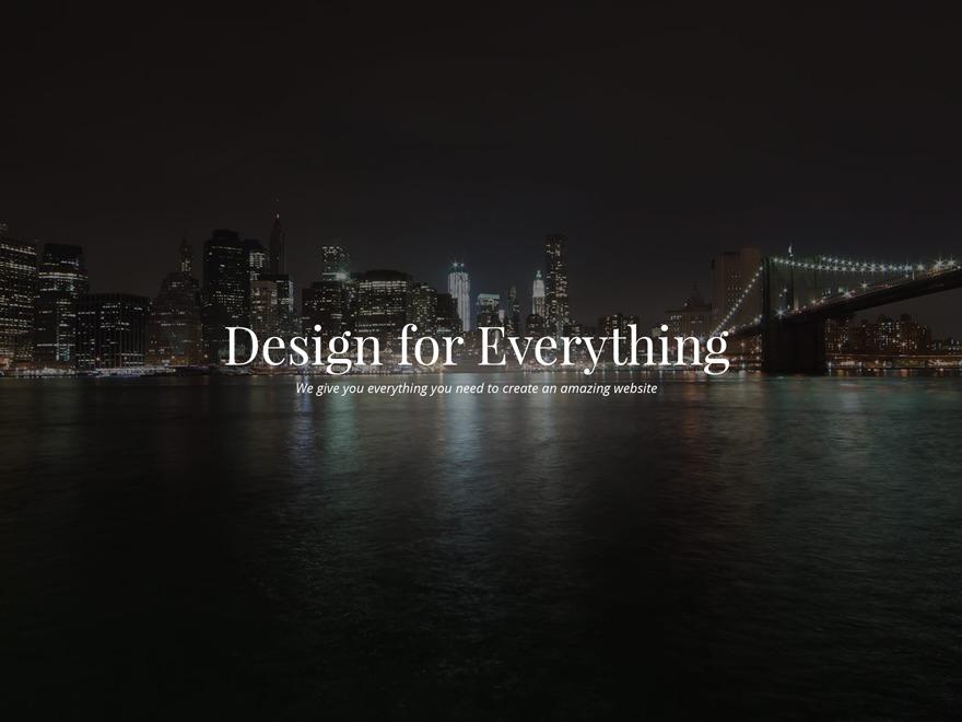 Hudson WordPress theme