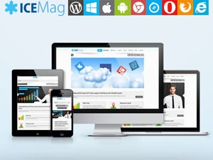 iceMag Theme WordPress template