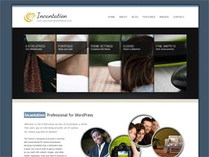 IncantationPro WordPress blog template