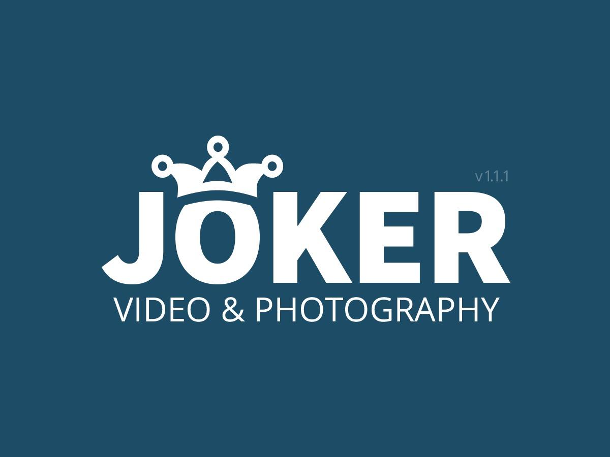Joker WordPress video theme