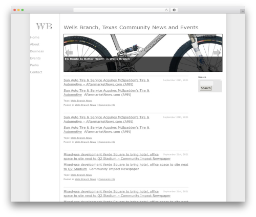 Free WordPress Featured Content Gallery plugin - wellsbranch.org
