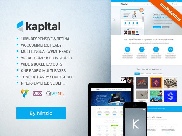 Kapital WordPress theme