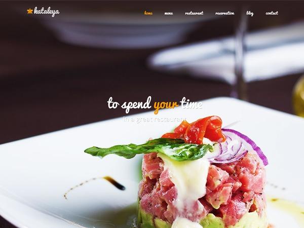 Kataleya WordPress portfolio theme
