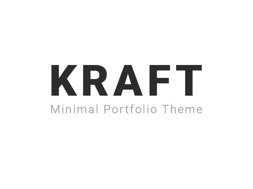 Kraft theme WordPress