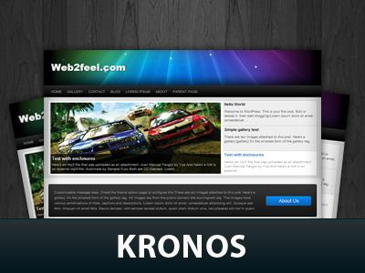 Kronos WordPress theme