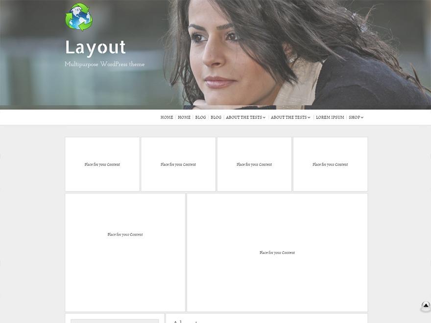Layout Builder WordPress blog template