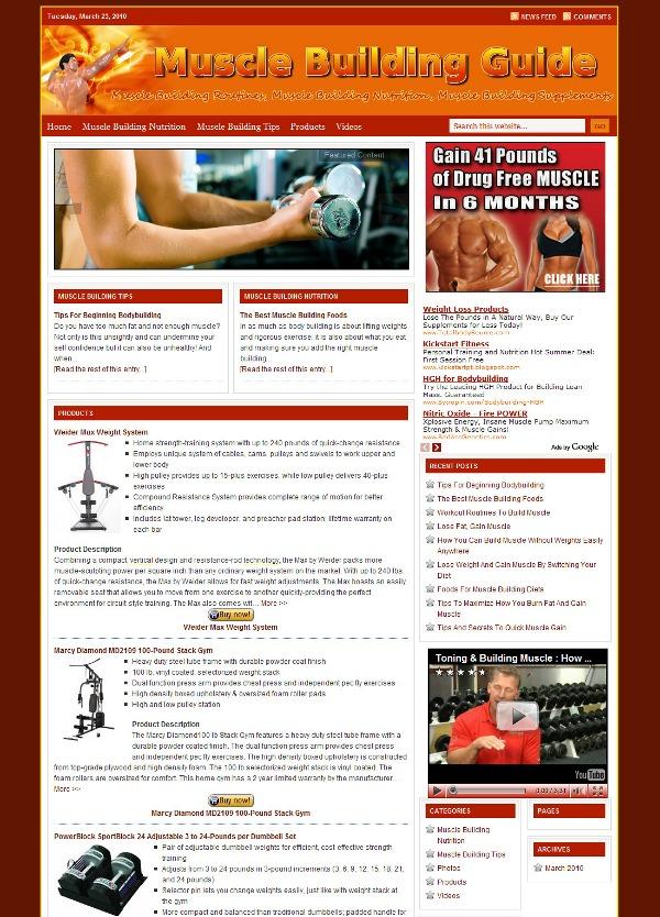 Lifestyle WordPress Theme WordPress theme