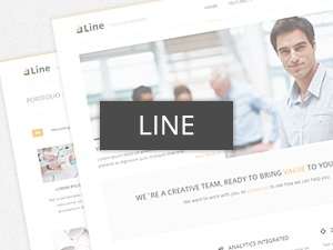 Line company WordPress theme