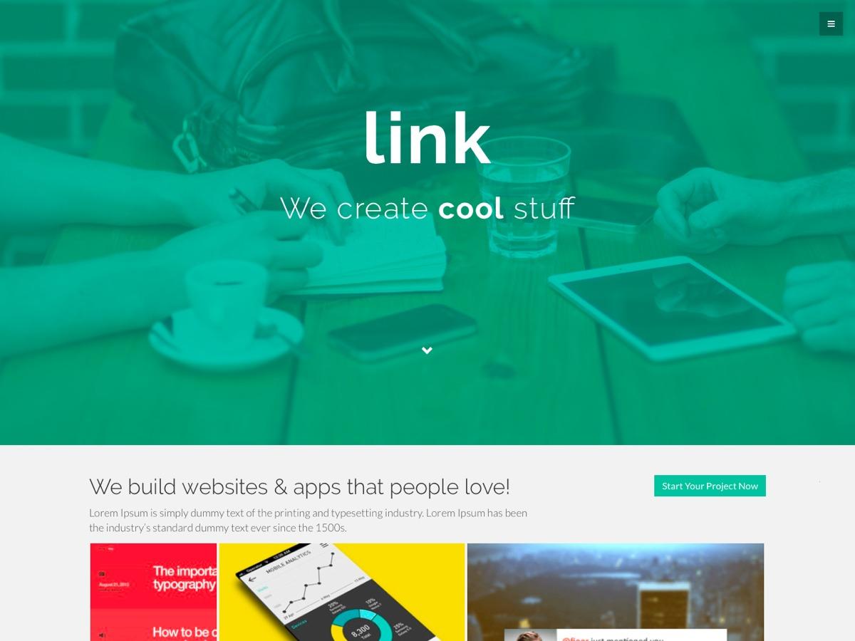 Link theme WordPress free