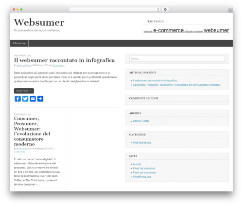 Magazine Basic free WP theme - websumer.it