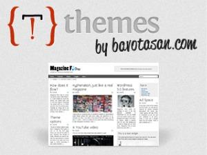 Magazine Flow WordPress magazine theme