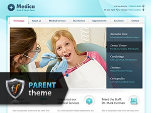 Medica Parent medical WordPress theme
