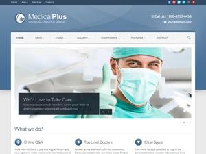 Medical Plus medical WordPress theme