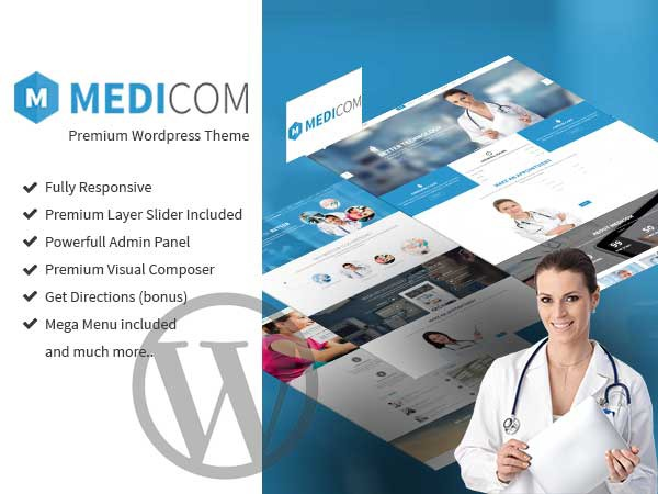 Medicom Theme template WordPress
