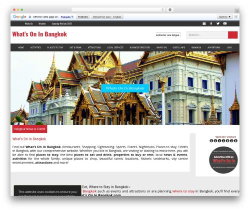 MH Newsdesk newspaper WordPress theme - whatsoninbangkok.com