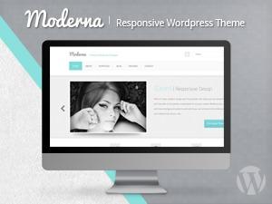 Moderna Responsive Wordpress Theme top WordPress theme