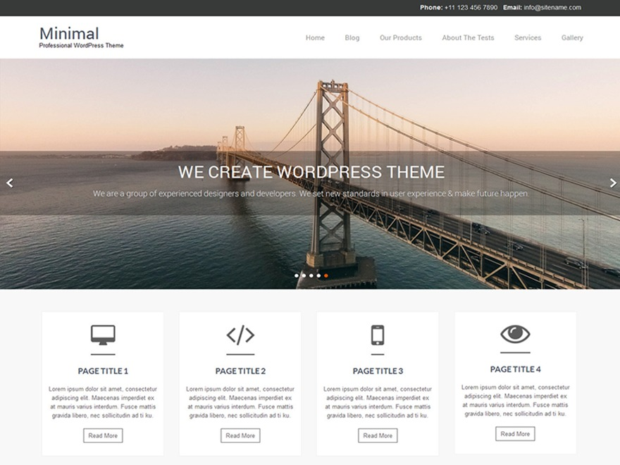 Naturo Lite WordPress shop theme