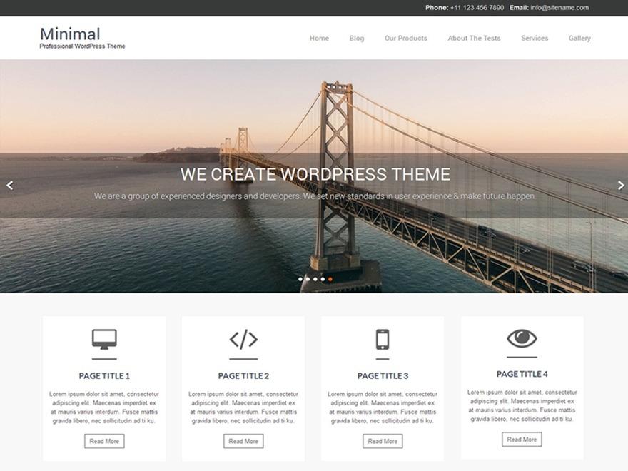 Naturo Lite WordPress shop theme