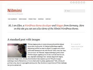 Nilmini WordPress blog theme