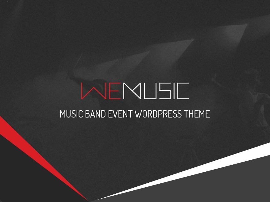 NOO Wemusic WordPress store theme