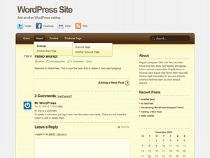 Notepad Theme WordPress theme