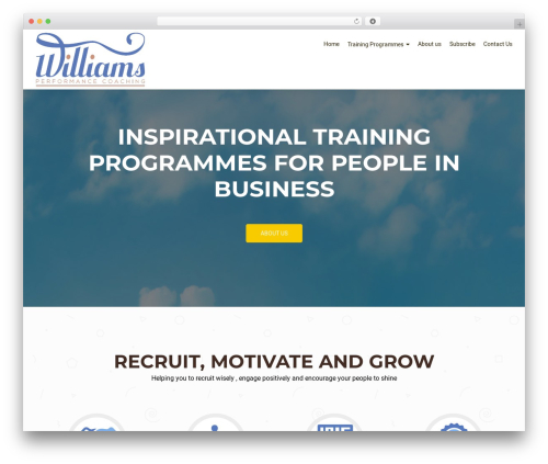 OnePirate WP template - williams.coach