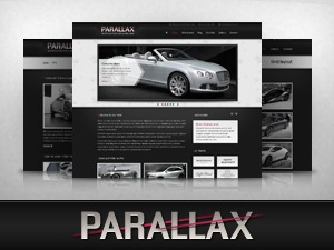 Parallax WP best portfolio WordPress theme