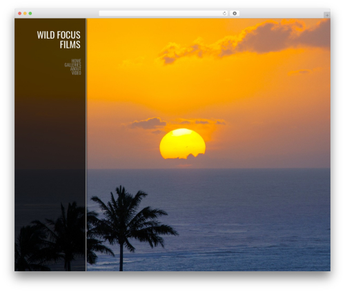 Photocrati Theme WordPress template - wildfocusfilms.com