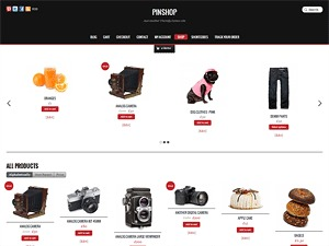 Pinshop WordPress store theme