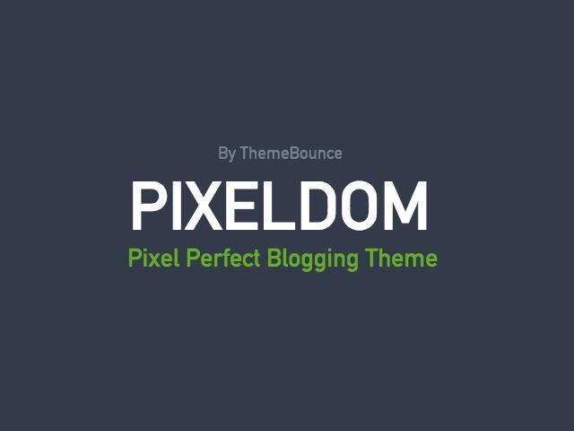 Pixeldom WordPress theme