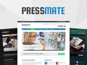 PressMate WordPress photo theme