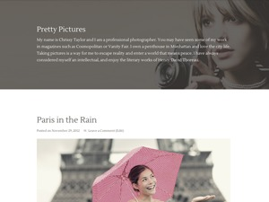 Pretty Pictures Child Theme WordPress template
