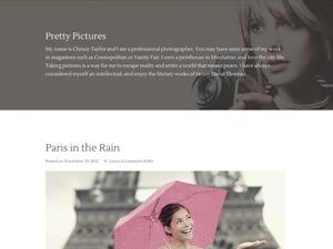 Pretty Pictures Child Theme WordPress template