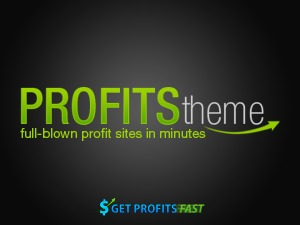 Profits Theme WordPress blog theme