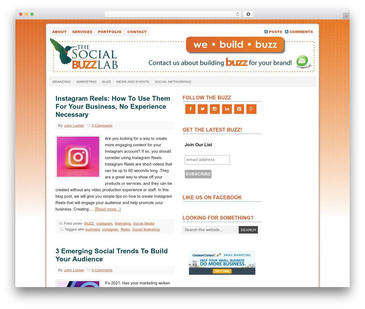 Prose top WordPress theme - webuildbuzz.com