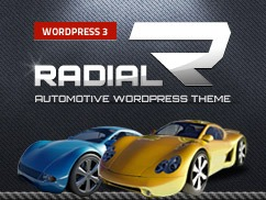 Radial Premium Theme WordPress template