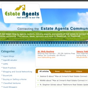 Real Estate WordPress blog theme