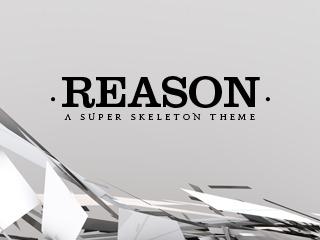 Reason WordPress blog theme