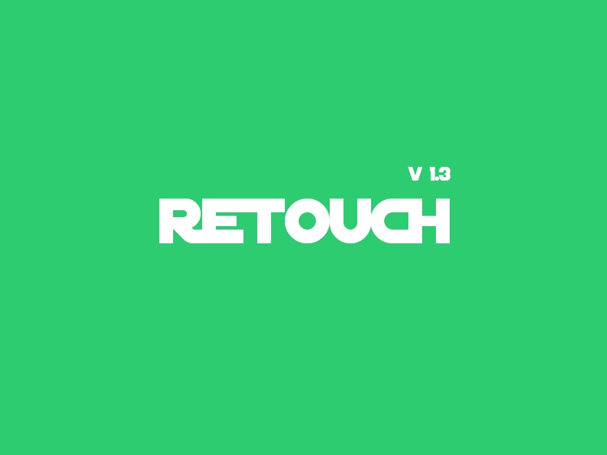 Retouch WordPress blog theme