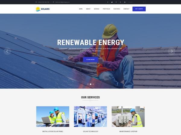 Ri Solaris WordPress shop theme
