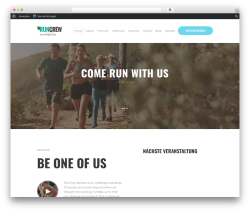 RunCrew WP template - webstream.tv