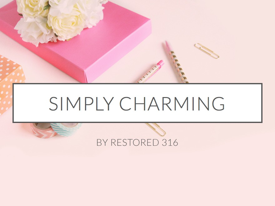 Simply Charming Theme WordPress theme