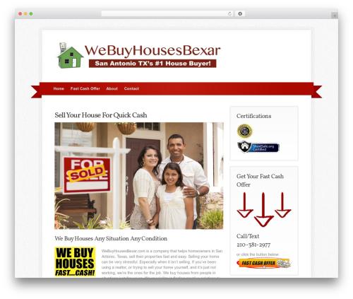 Simply Jigoshop WordPress template - webuyhousesbexar.com